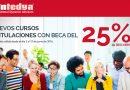 Nuevos Cursos de Intedya con el 25% de Descuento