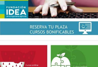 Oferta formativa de la Fundación IDEA para septiembre y octubre de 2016