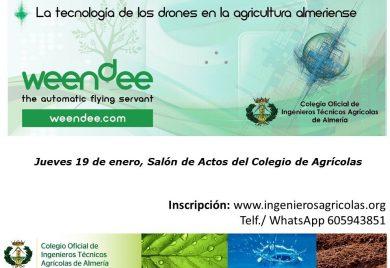 Jornada sobre Tecnología de Drones en Agricultura