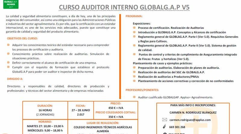 Curso de Auditor Interno de GlobalGAP v.5