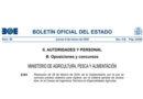 Oposiciones al Cuerpo de Ingenieros Técnicos en Especialidades Agrícolas del Ministerio