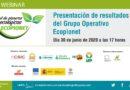 Presentación de resultados del Grupo Operativo Ecopionet