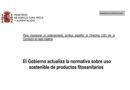 Modificación de la normativa sobre comercialización de los fertilizantes en la Unión Europea
