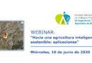 WEBINAR: 'Hacia una agricultura inteligente y sostenible: aplicaciones'