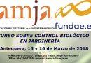 Curso sobre Control Biológico en Jardinería