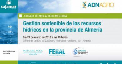 Jornada sobre Gestión Sostenible de los Recursos Hídricos en la provincia