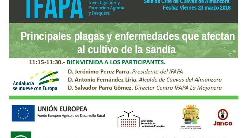 Jornada en sobre las principales plagas y enfermedades de la Sandía