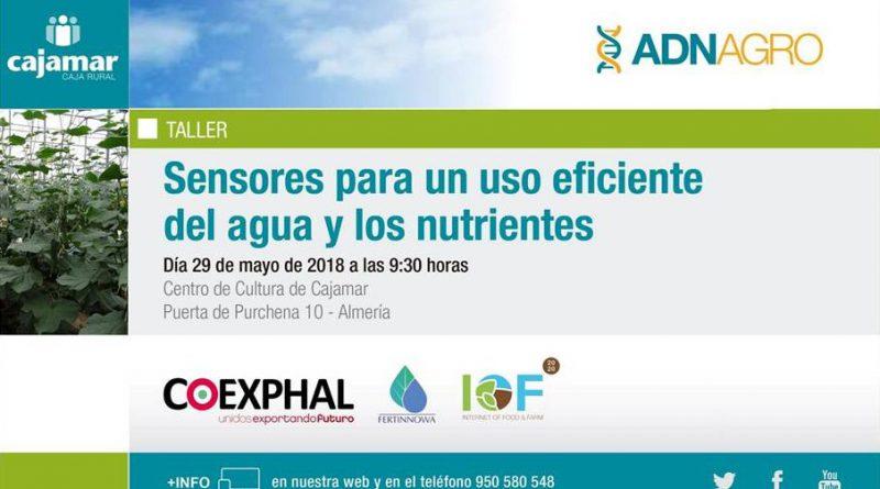 Jornada sobre Sensores para un Uso Eficiente del Agua y los Nutrientes