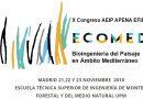 Congreso de Bioingeniería del Paisaje en el Ámbito Mediterráneo