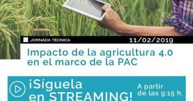Jornada por internet: Impacto de la agricultura 4.0 en el marco de la PAC