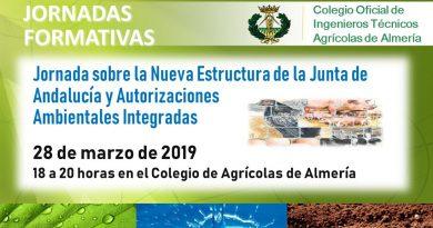 Jornada sobre la Nueva Estructura de la Junta de Andalucía y Autorizaciones Ambientales Integradas