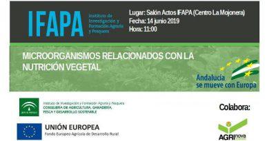 Jornada sobre Microorganismos relacionados con la nutrición vegetal
